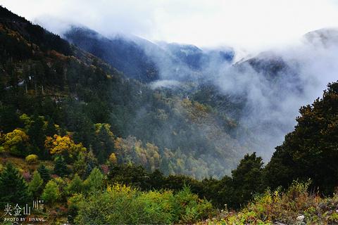 夹金山旅游景点攻略图