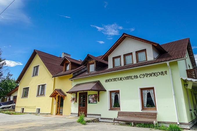 文塔扎欧特尔苏里柯瓦酒店(Vintazh Otel Surikova)图片