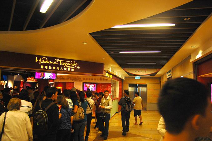 香港杜莎夫人蜡像馆图片