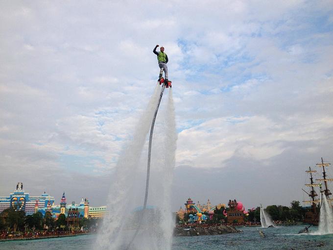 水上飞人大汇演图片