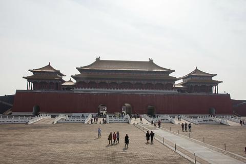 明清宫苑景区旅游景点攻略图