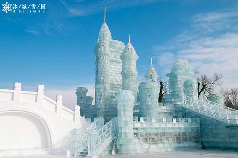 太阳岛雪博会的图片