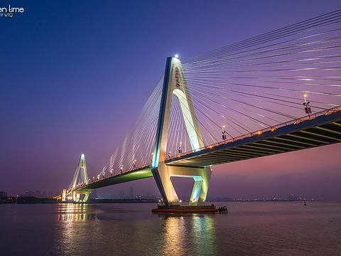 海口世纪大桥旅游景点图片
