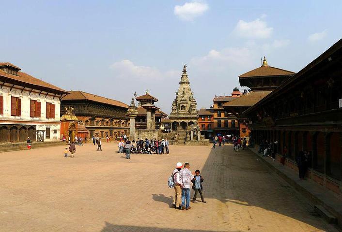 2018巴德岗杜巴广场是尼泊尔世界文化遗产之一,是巴克塔普尔最大