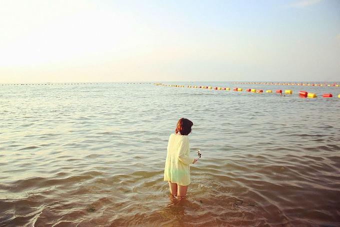 威海国际海水浴场图片