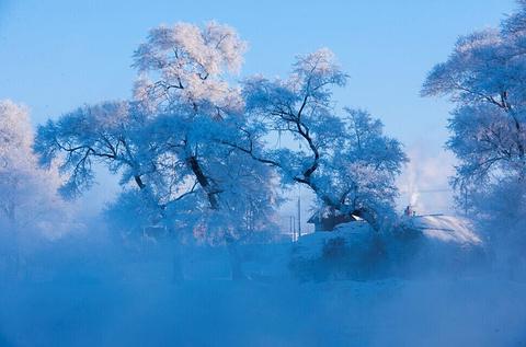 雾凇岛旅游景点攻略图