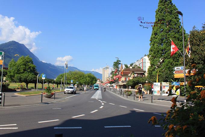 茵特拉根小镇图片