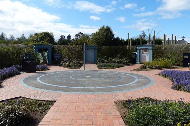 """""""多产园中的毛利花园也是新西兰唯一的..._汉密尔顿花园""""的评论图片"""