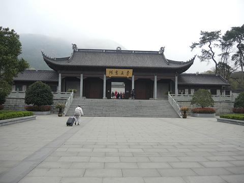 阿育王寺旅游景点攻略图