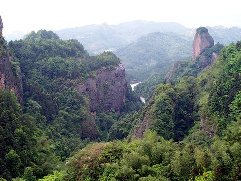 翠微峰国家森林公园旅游景点图片
