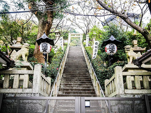 神户北野天满神社旅游景点图片
