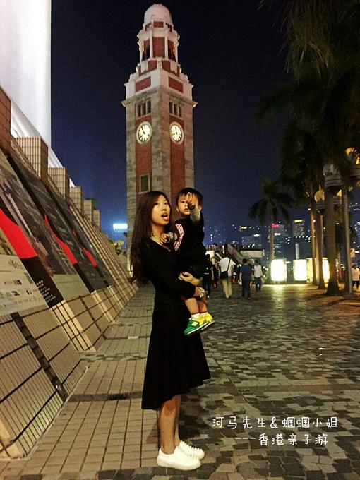 前九广铁路钟楼图片