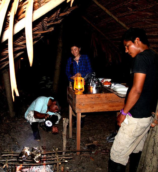 丛林野营图片