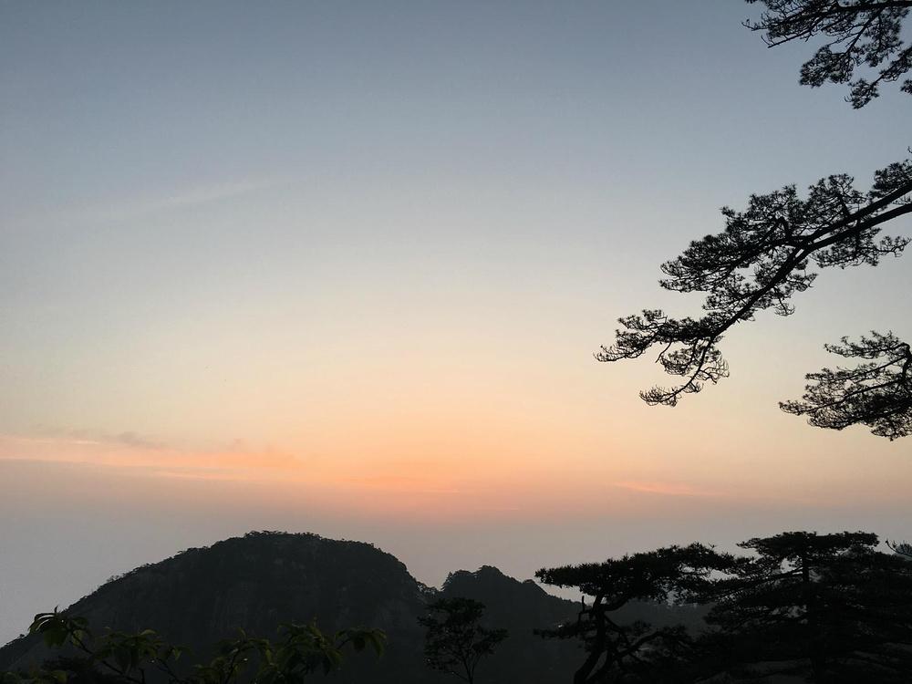 黄山的灵秀,宏村的静美