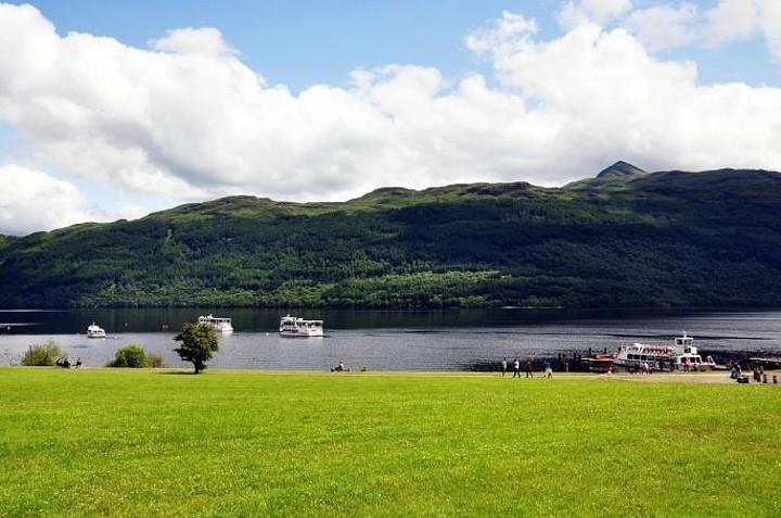册中的苏格兰 最美丽的城堡 基尔亨城堡 Kilchurn 洛蒙德湖评论 去图片
