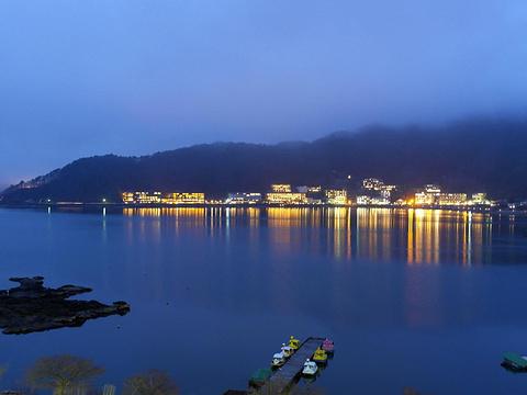 河口湖旅游景点图片