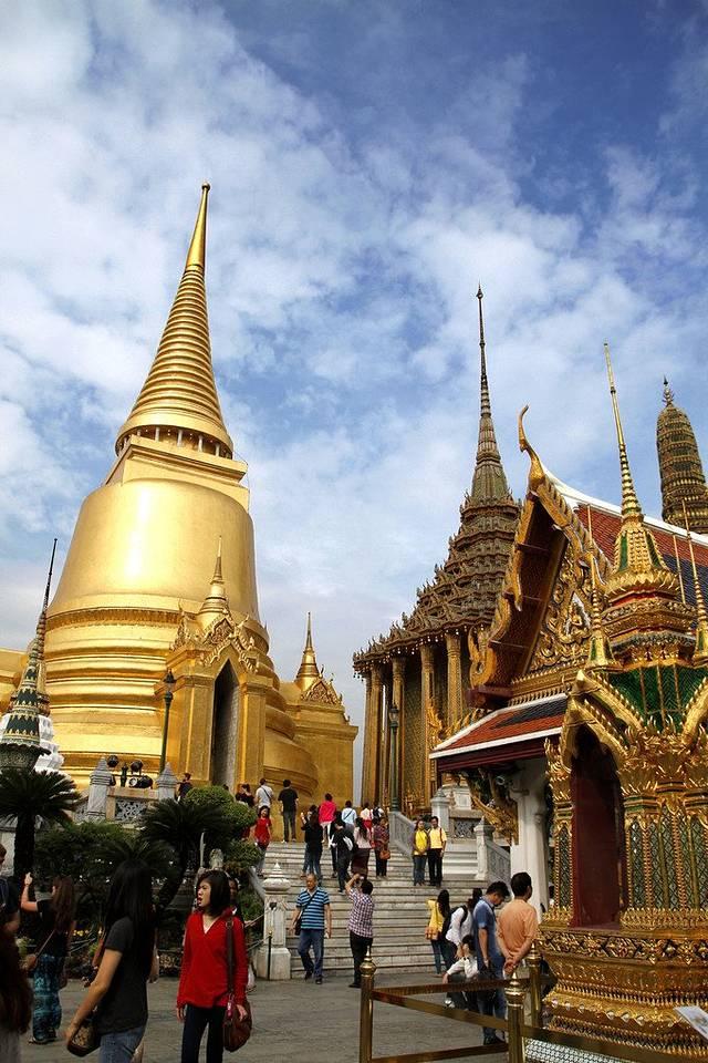 一花一世界,一叶一菩提--柬泰两国游