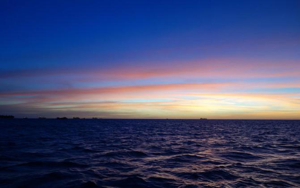 塞班的天和海,令人沉醉的蓝