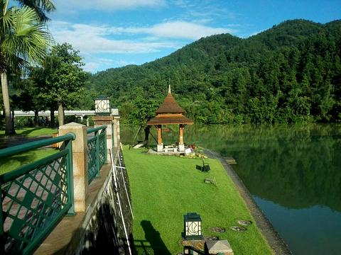 从化流溪河水上绿道旅游景点图片