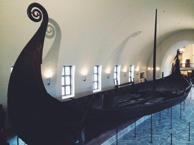 维京船博物馆图片