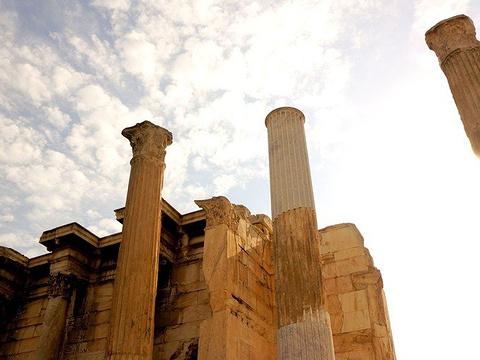 雅典古代市集旅游景点图片