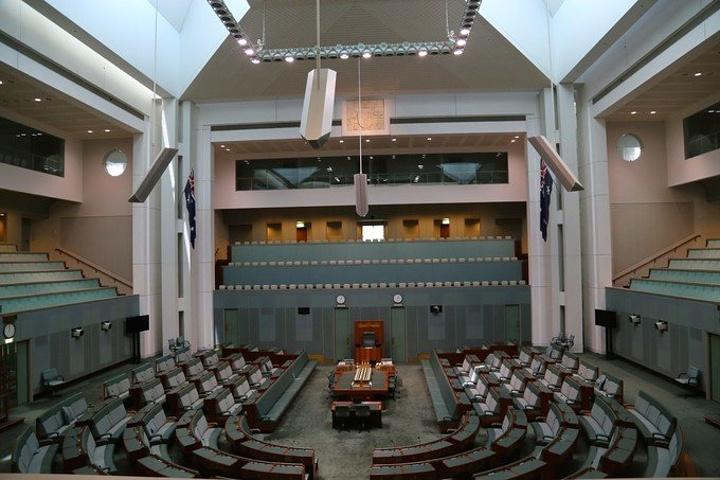 """""""国会大厦,可以直接参观大BOSS们议会哦..._澳大利亚国会大厦""""的评论图片"""