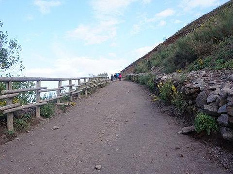 维苏威火山旅游景点图片