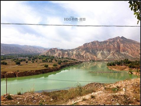 尖扎县景区旅游景点攻略图