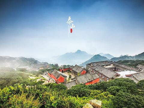 泰山风景区旅游景点图片