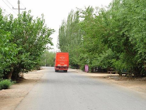 苏巴什古城旅游景点图片
