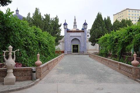 哈斯哈吉甫陵墓旅游景点攻略图