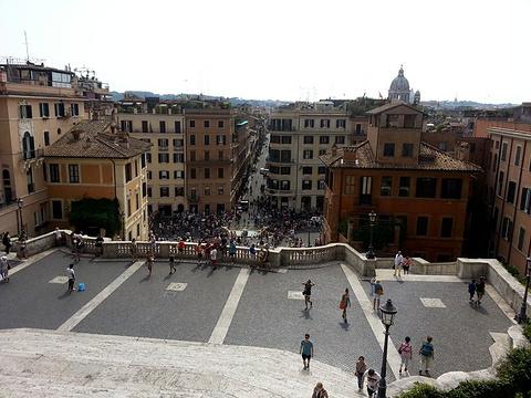西班牙广场商圈旅游景点攻略图