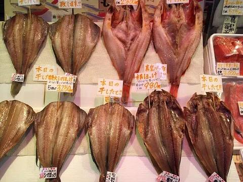 函馆海鲜市场旅游景点攻略图