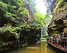 潜心山水间,探秘龙潭大峡谷