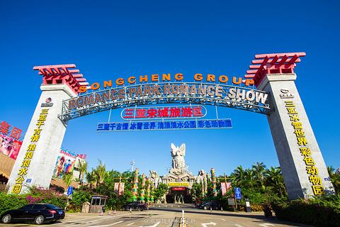 三亚宋城旅游区旅游景点攻略图