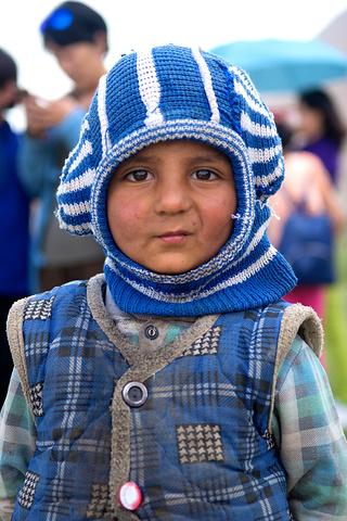 """""""原先南瓜和阿凤都有来过,所以孩子们特别期盼者她们的再次造访。塔吉克族人对汉人非常非常的友善_帕米尔高原""""的评论图片"""