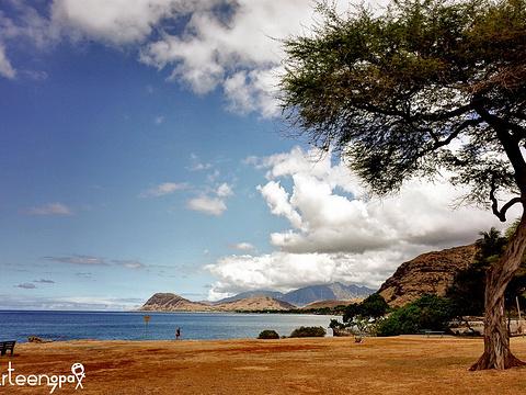 日落海滩旅游景点图片