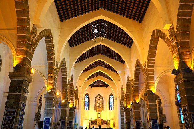 涠洲盛塘天主教堂图片