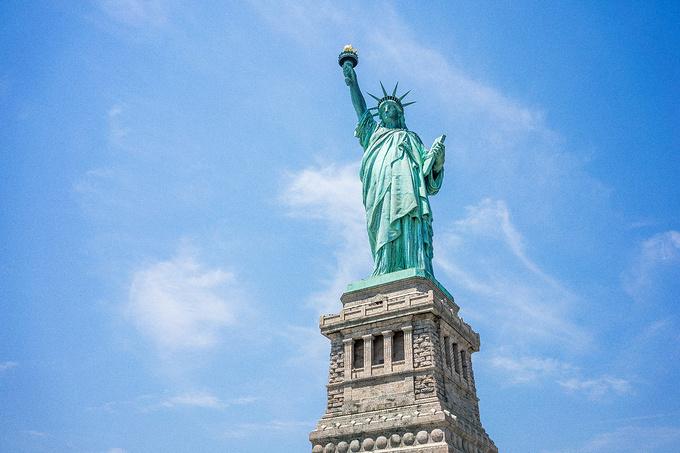 自由女神像的脚_这是纽约!是一个被镜头宠幸着的城市!-纽约旅游攻略-游记-去