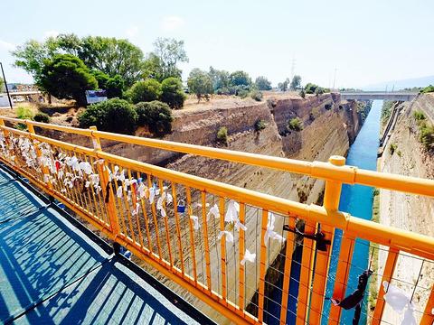 科林斯运河旅游景点图片