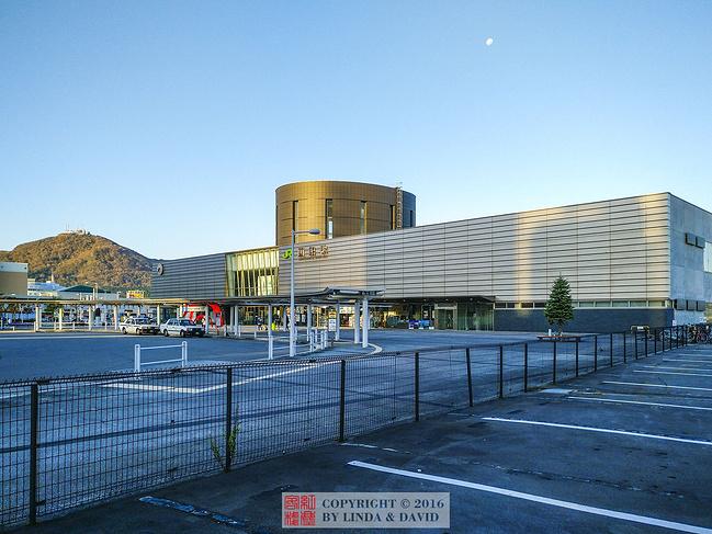函馆站图片