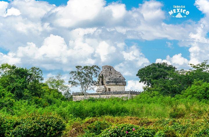 """""""...化的三大中心之一和世界著名的古代文化之一,也是修复得最好的尤卡坦玛雅景点,新的世界七大奇迹之一_奇琴伊察""""的评论图片"""