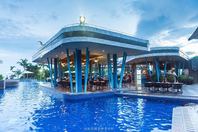 三亚美高梅度假酒店(池畔烧烤)图片