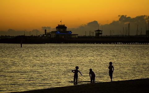 圣基尔达海滩旅游景点攻略图
