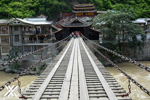 泸定桥的图片