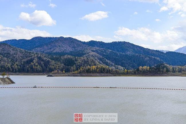 大雪湖图片