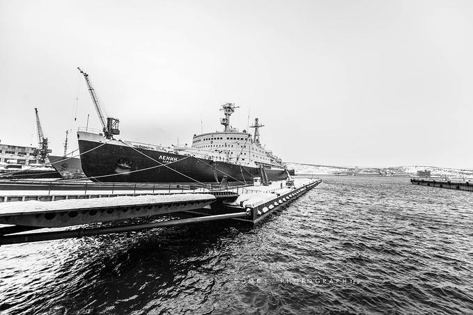 列宁号核动力破冰船图片