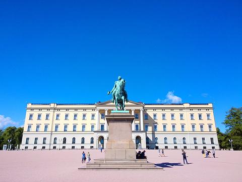 挪威王宫旅游景点图片