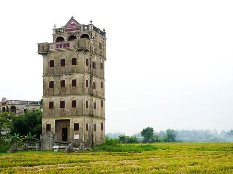 自力村碉楼群旅游景点图片