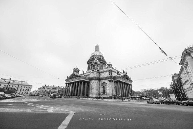 圣以撒大教堂图片